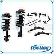 2x Struts Coil Springs W/ Control Arm Suspension For 00-01 Nissan Maxima 3.0l