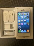New Rare Collectible Apple Iphone 516gb White/silver Unlocked Make Offer