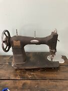 Vintage White Rotary Sewing Machine 69x1360 Parts Only Black Rustic Antique