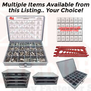 18-8 Stainless Steel Hex Cap Screw Bolt Nut Washer 304 Assortment Or Accessories