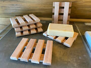 45 Luxurious Solid Wood Soap Dishes - Handmade In The Usa - The Boardwalk Dish