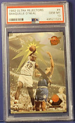 1992 Ultra Shaquille Oneal Rejectors 4 Psa 10 Mint Rc Lakers Xplor_sports