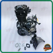 Loncin 250cc Air Cooled Engine,balance Shaft, 6 Gears With Wiring Hardness