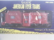 American Flyer 48722 Rock Island Bay Win.caboose Nos,mint Boxed Cd.wow L@@k