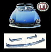 Brand New Fiat 124 Spider Stainless Steel Bumpers