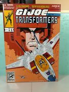 Hasbro Gi Joe And The Transformers Sdcc 2011 Exclusive Issue 5 Starscrem And Cobra
