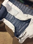 Gm Chevrolet Seat Cover Blue Oem Part 14060916 Believed To Be For 1957