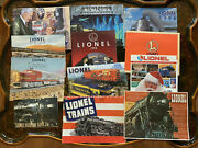 Pre-war 1942 To 2000 Lionel Toy Trains Catalog Advertising Collections
