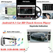 Android 8.1 Car Gps Navigator Fm Radio Bluetooth Hd Touch Screen Player 7 Inch