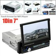 10x7inch 1din Contact Screen Car Mp5 Player Bluetooth Usb Stereo Fm Am Audio