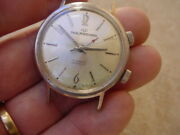 Vintage Collectible Paul Portinoux Alarm In Stainless Steel Case. Oyster Dial.