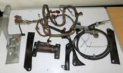 1961-1963 Lincoln Convertible Relay Deck Rh Hinge Lid Parts Harness Motor Cables
