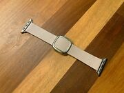Oem Apple Watch Leather Bands Modern Buckle Soft Pink 38 40mm Large