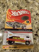 Hotwheels Rlc Charity Exclusive Flying Customs Vw Drag Bus White 1000 Produced