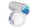 Disposable Paper Plates Recyclable Everyday Plates Dinner Size 10 Bulk 220 Pack