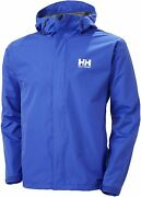 Helly-hansen Menand039s Seven J Waterproof Windproof Breathable Rain Jacket