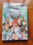 Tales Of The Abyss - Ps2 - Playstation 2- Ntsc Brand New Sealed Rare