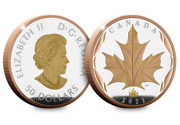 The 2021 5oz Silver Proof Maple Leaf From The Royal Canadian Mint