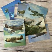 After The Battle Ww2 Fighter Plane Postcards Lot Of 16 Hawker Tempest Bombers +