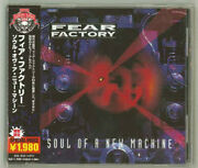 Fear Factory Soul Of A New Machine Japan Cd Rrcy-25066 2008 Obi