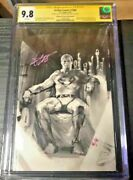 Antique Rare Bulletproof Sketch Edition Action Comic Signed Gabriele Dell Otto