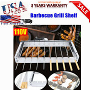 10 Holes Electric Barbecue Grill Machine Grilling Outdoor Bbq Machine Kitchen Us