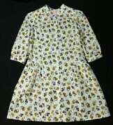 Jigsaw Puff Sleeve W/c Shirt Dress White Size 6/7 Years Rrp Andpound49.00 Lot 1