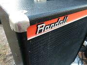 Randall Rs-115-h 2 Way Horn 15 Speaker Stage Amp Monitor Vintage 1970and039s Orange