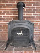 Vintage Vermont Castings Resolute Wood Stove