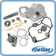 Timing Chain Kit For 00-08 Chevy Pontiac Saturn W/ Cover Gasket Oil Water Pump