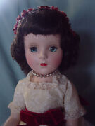American Character Vintage Hard Plastic 1953 Mint Doll In Pristine Jr. Prom Gown
