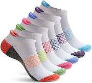 Womens Ankle Socks | 6 Pairs | Ladies No Show Athletic Socks | Running And Workout