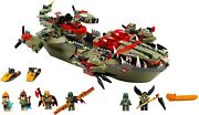 Lego Legends Of Chima 70006 Craggerand039s Command Ship 100 Complete With Parts List