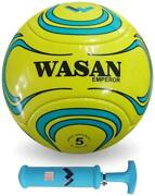 Wasan Emperor Football Size 5 With Pump-yellow-ufh