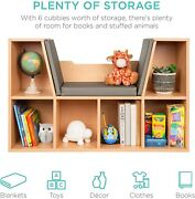 Kids Book Shelves Toy Storage Reading Nook Bedroom Furniture Organizer Wood New