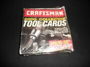 2000 Sears Craftsman Tool Collector Cards Factory Sealed Box Extremely Rare