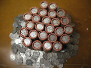 @sale@ Old Investment Collection Lot Wheat Cent Penny Rolls W/90 Silver Us Dime