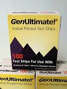 Genultimate 2 X100 Test Strips For Onetouch Ultra Ultra2 Ultramini...