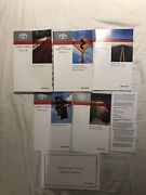 2014 Toyota Camry Hybrid Owners Manual Book Set + Navigation