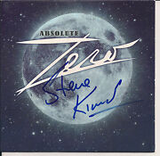 Absolute Zero By Zero Cd, 2011, Whirled Records Original Signed