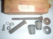 Nos Front Suspension Lower Control Arm Bolt And Bushing Kit 61 62 Ford Galaxie
