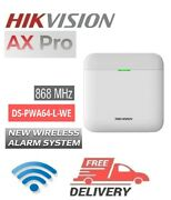 Hikvision Ds-pwa64-l-we Ax Pro 868mhz Connects Up To 64 Wireless Zones Panel