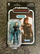 Rare Star Wars The Mandalorian Cara Cune 3.75 Vintage Collection Carded Figure