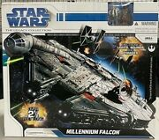 2008 Star Wars The Legacy Collection Millennium Falcon 2 1/2ft Long Sealed