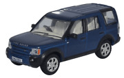 Oxford Diecast 176 Landrover Discovery 3 Cairns Blue Metallic 76lrd006