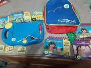 Leap Frog My First Leap Pad System, 5 Books, 3 Matching Cartridges Working