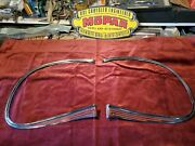 628 1941 Plymouth Nos Grill Moldings 900636 And 900637