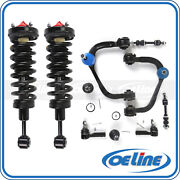 2x Front Struts Coil Spring W/ Suspension Control Arm For 04-08 Ford F-150 4wd