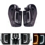 Led Fairing Lower Grill Light Solid Plates Cover Lower Vented Fairing For Halrey