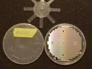 6502 Cpu - Over 100 Chips On A Vintage 4 Inch Silicon Wafer